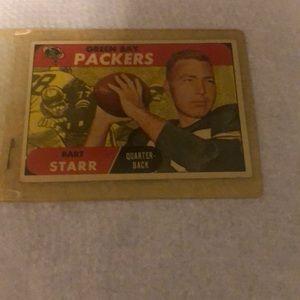 Bart Starr Green Bay quarterback Topps 1